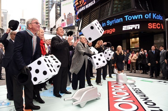 TV personality Billy Gardell attends the Monopoly Millionaire's Club lottery launch
