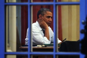 These 10 Images Show the Big Toll the Presidency Has Had on Barack Obama