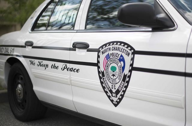 "police car, ""peace"" on side"