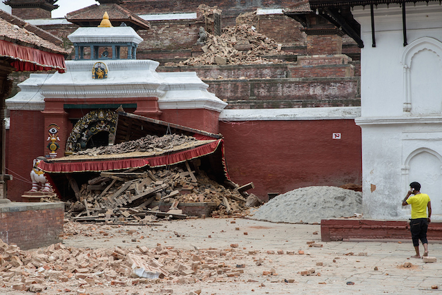 earthquake damage -- not protected by your home insurance