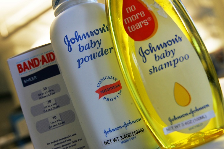 Johnson's products are seen in New York - Source: Chris Hondros/Getty Images