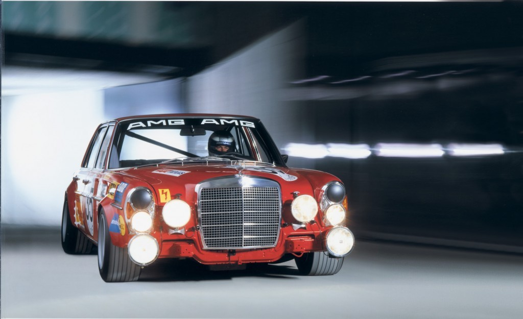 """1971 6.8 SEL """"Red Pig"""""""