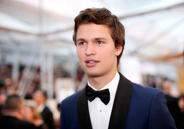 Ansel Elgort | Christopher Polk/Getty Images