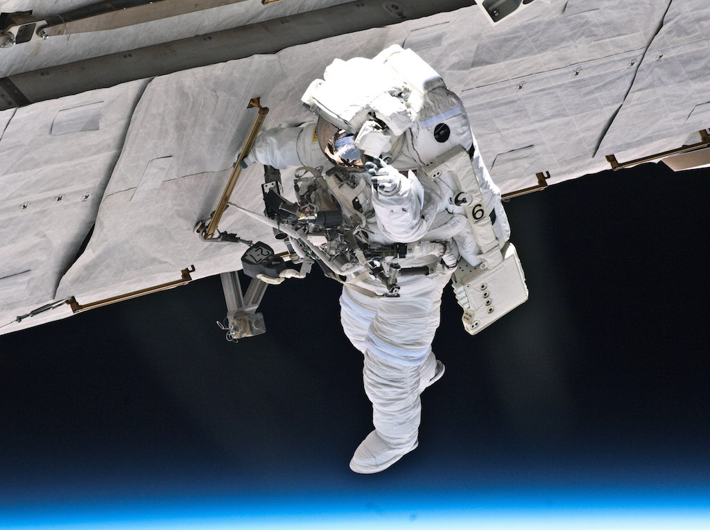 NASA astronaut Garrett Reisman, STS-132 mission specialist
