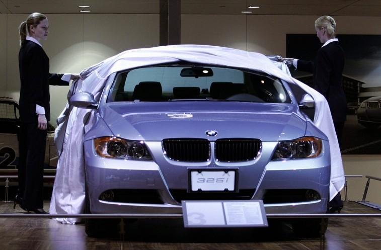 BMW luxury sedan