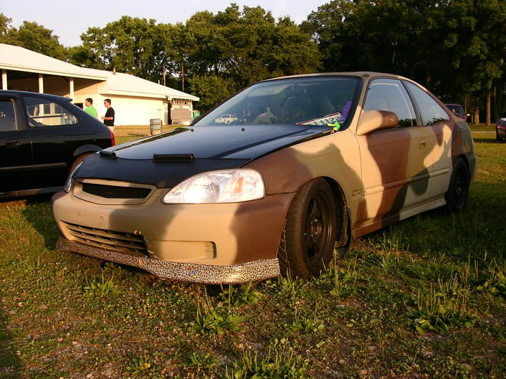 Modified Honda Civic Coupe