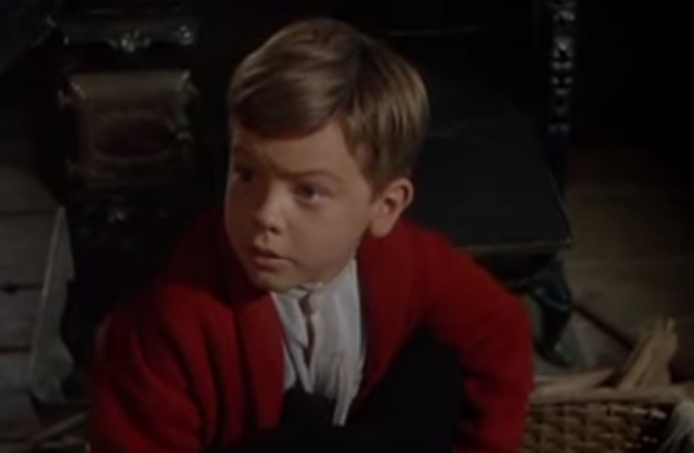 Bobby Driscoll as a child