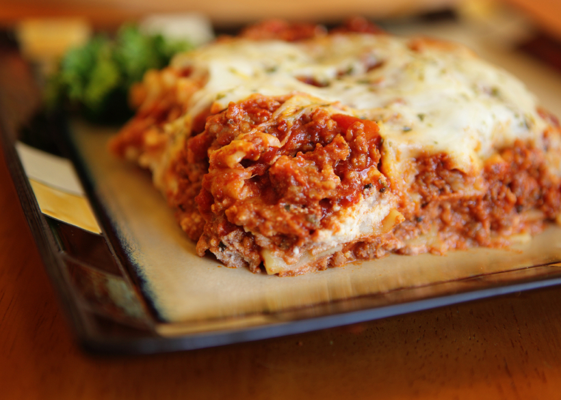 Traditional Sausage Lasagna With Cream Cheese Recipe — Dishmaps
