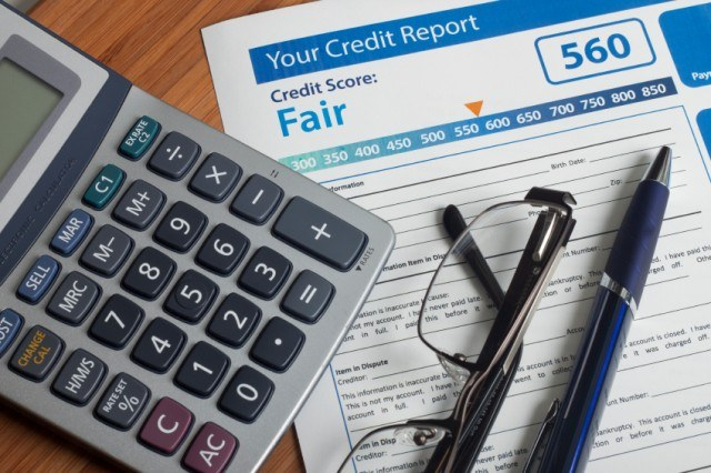 Credit report with score | Source: iStock
