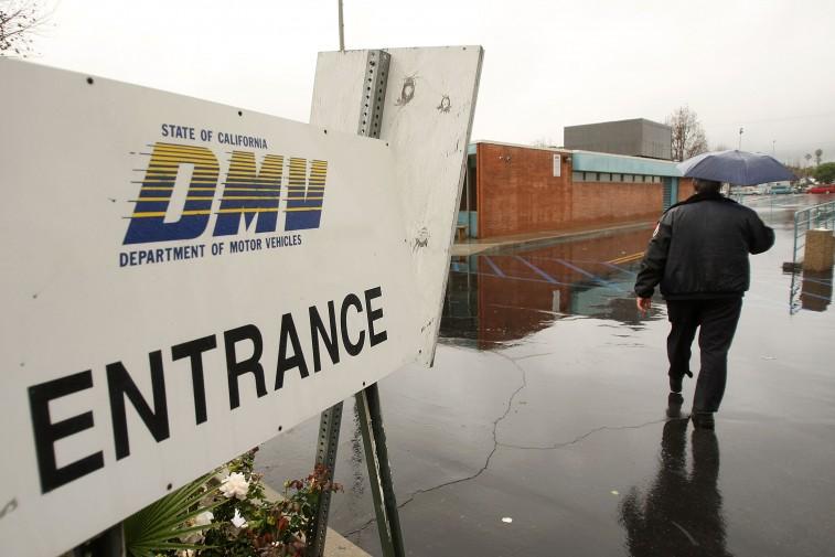 DMV entrance