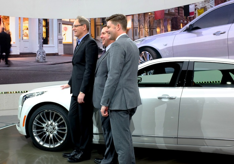Cadillac goes big with the stunning ct6 for General motors cadillac headquarters