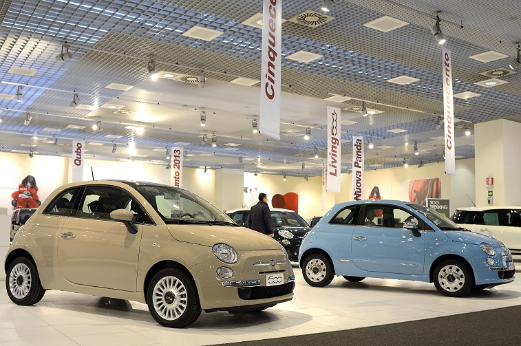 Fiat 500 Dealership | Andreas Solaro/AFP/Getty Images