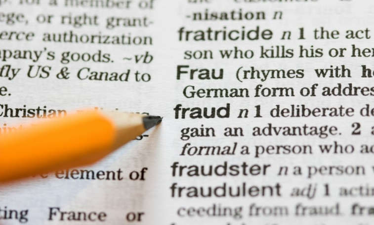 fraud definition in dictionary