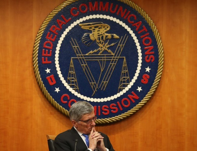 Federal Communications Commission Chairman Tom Wheeler listens to testimony - Mark Wilson/Getty Images