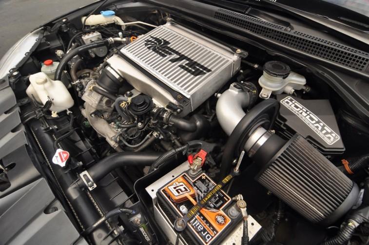 Turbocharged Acura RDX engine