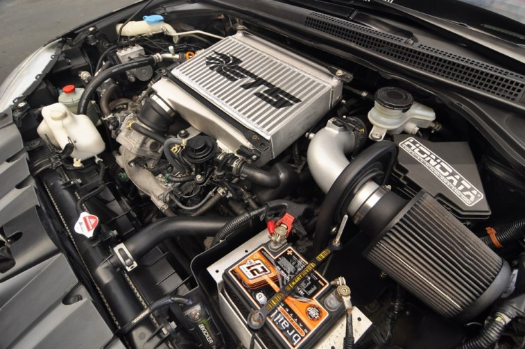 Turbocharged Acura RDX engine