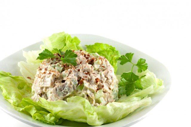 Homemade chicken salad