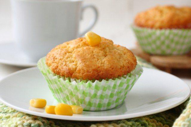 sweet corn cupcakes