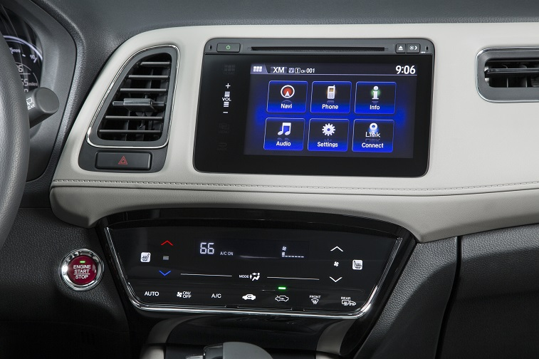 Honda HR-V Center Stack