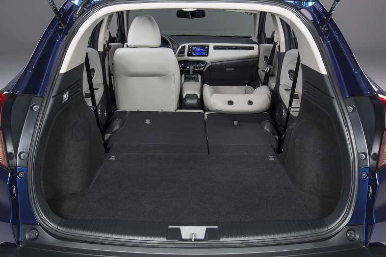 Honda HR-V Seats Folded