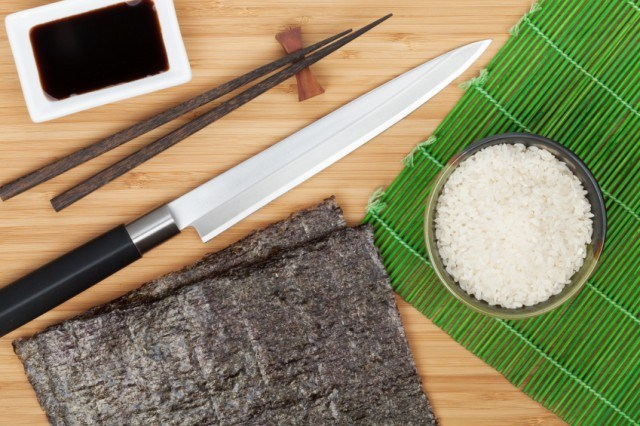 Ingredients for tuna rolls
