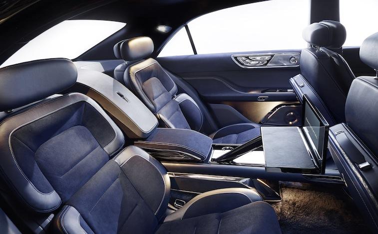 Lincoln Continental interior