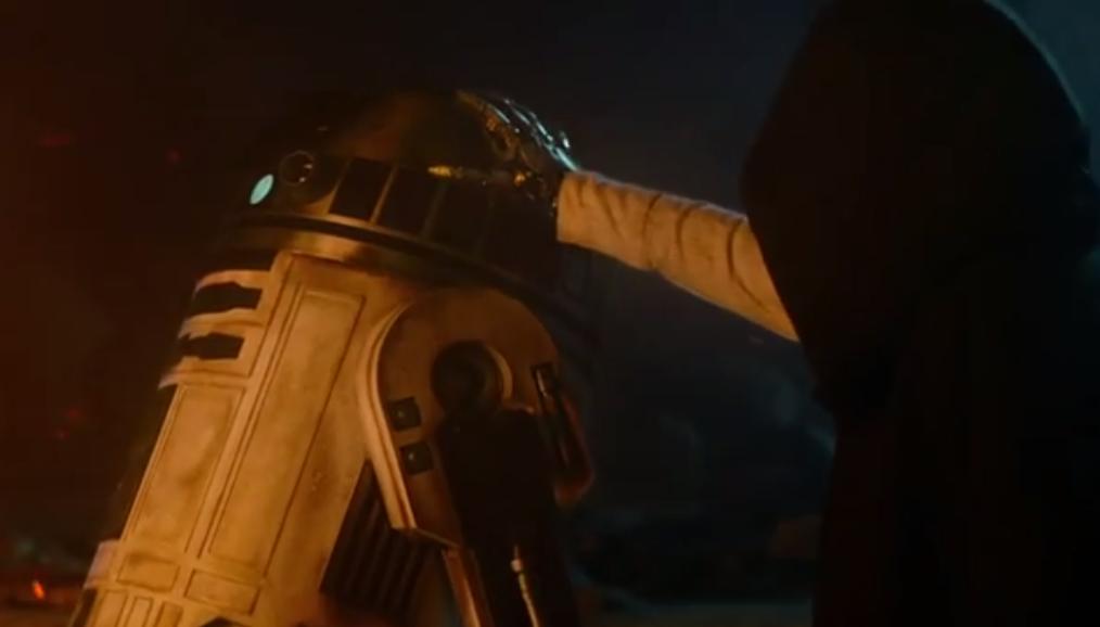 R2-D2 and Luke