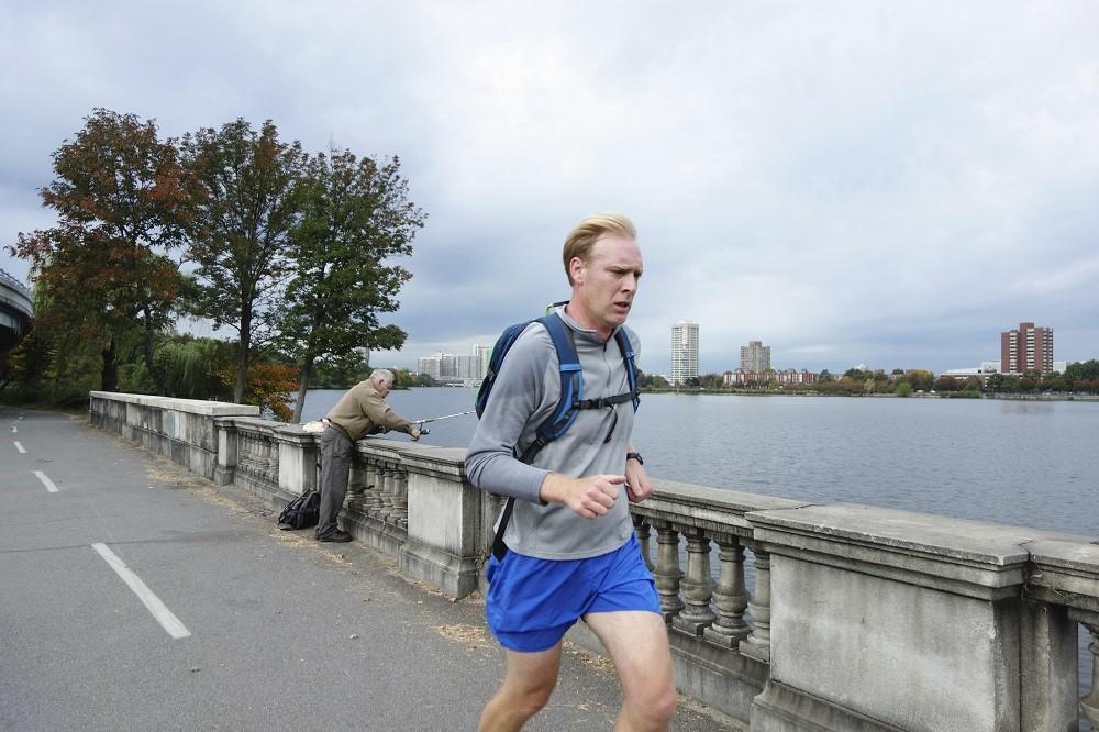 run, jog, commute