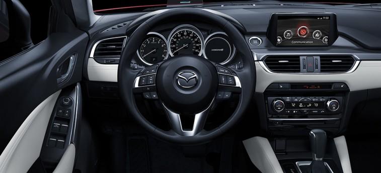 Mazda steering wheel