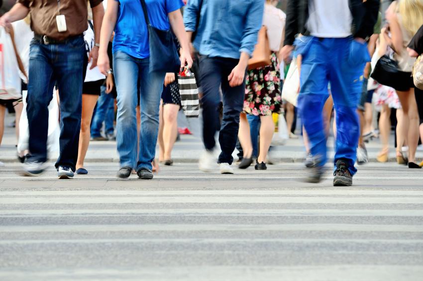 Walk while you run errands