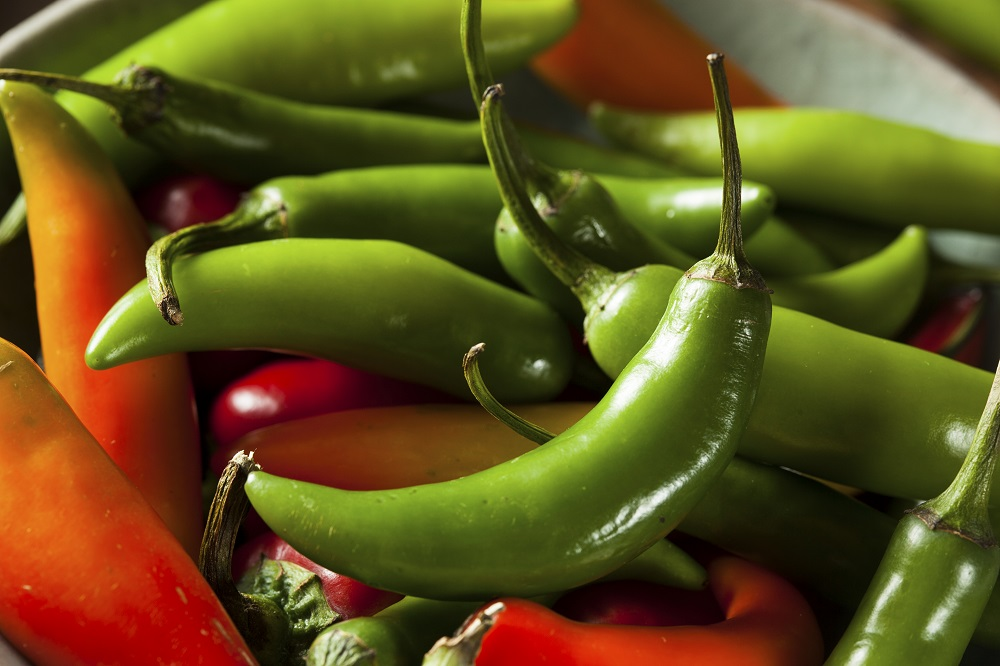 Serrano Peppers, chiles