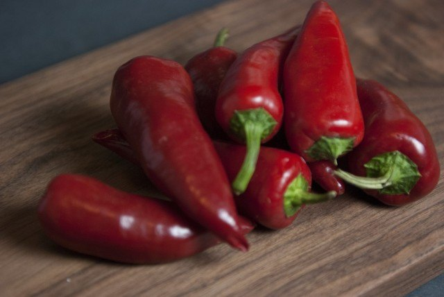 Red Jalapenos, chiles