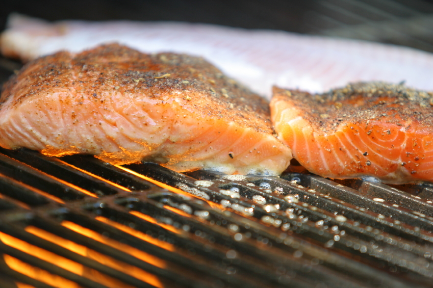 grilled salmon will be your go-to for date night dinners