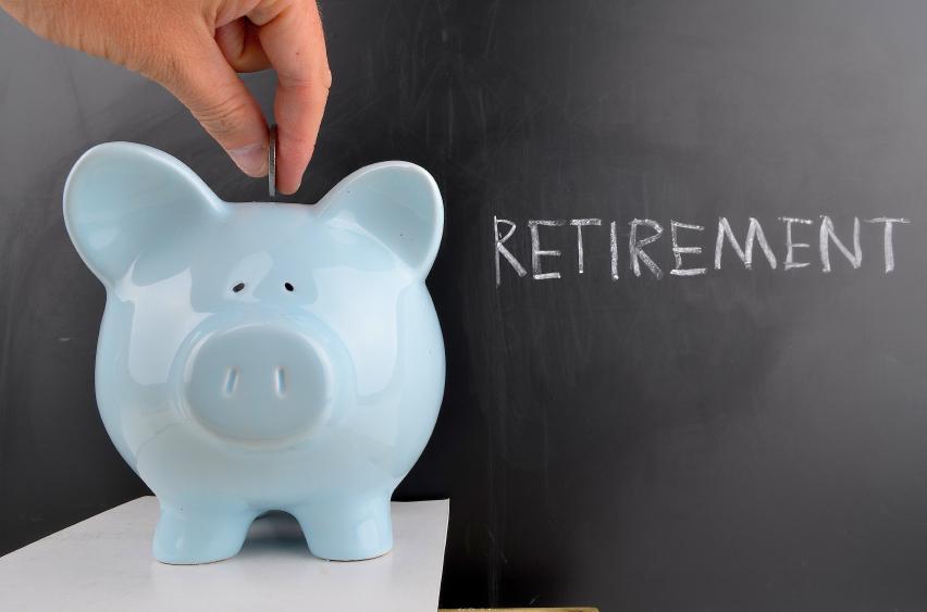 retirement piggy bank