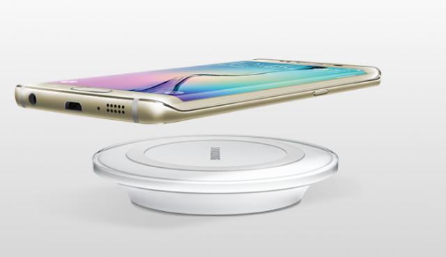 Samsung Galaxy S6 Edge charging