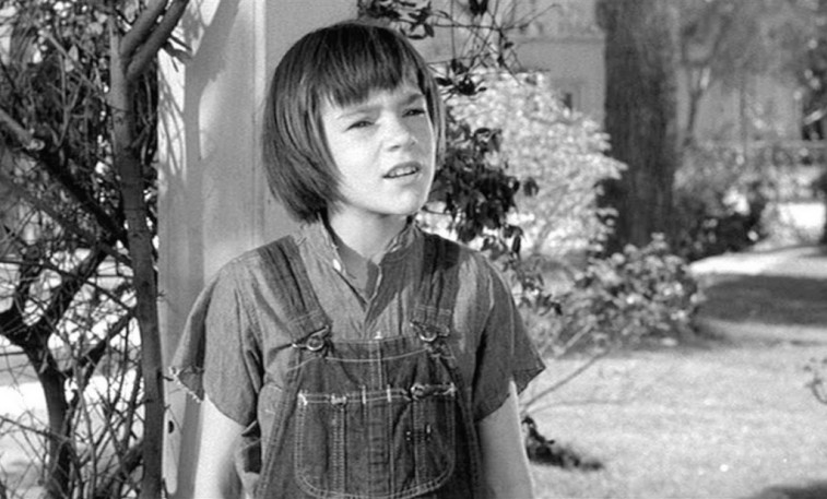 Mary Badham in To Kill a Mockingbird