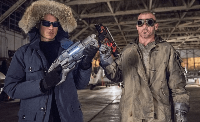 Captain Cold and Heat Wave - The CW