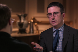 John Oliver Gets His Frost/Nixon Moment With Edward Snowden