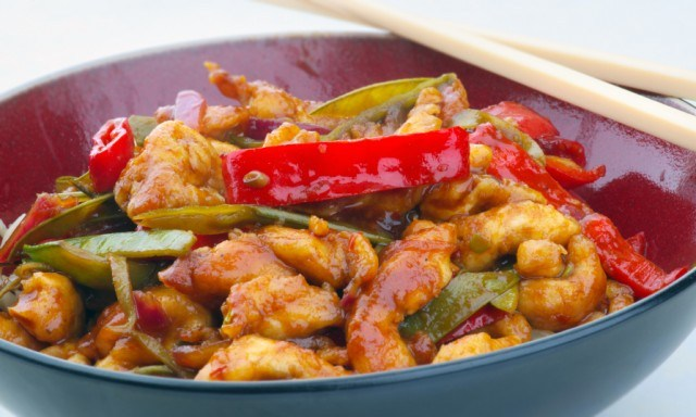stir-fry with chicken