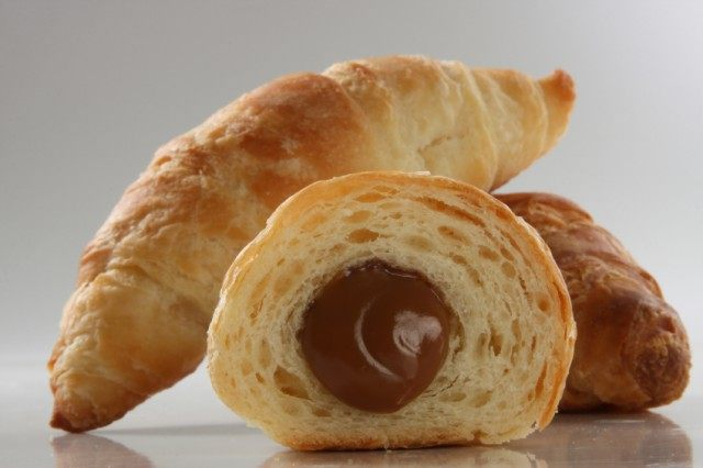 crescent roll with chocolate