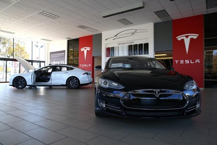 Tesla Model S Dealership