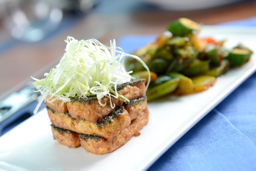 Tofu, tempeh