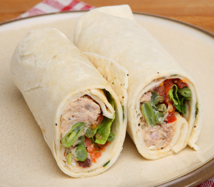 Tuna Fish Wrap