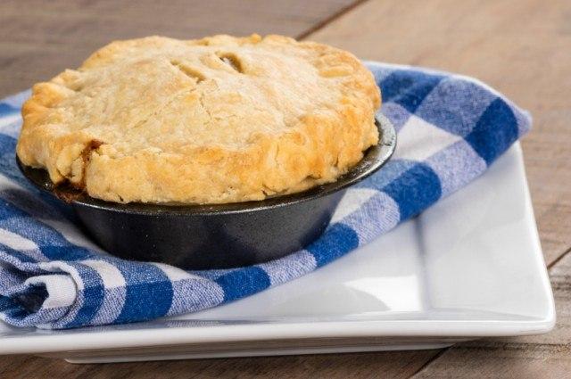 curried chicken pot pie
