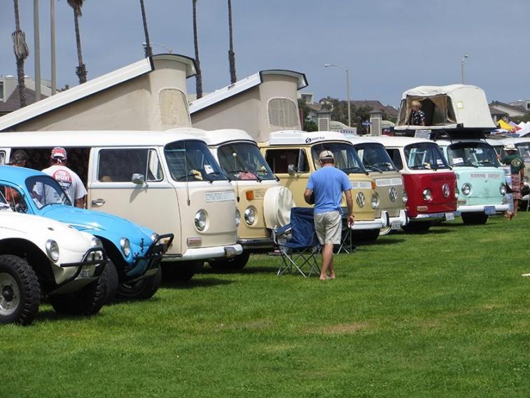 Volkswagen Westfalia pop-up campers