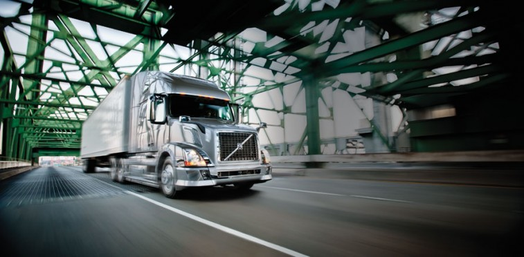 Volvo's DME and natural gas driven trucks