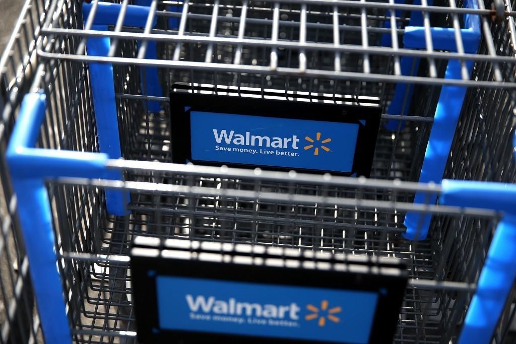 Walmart carts