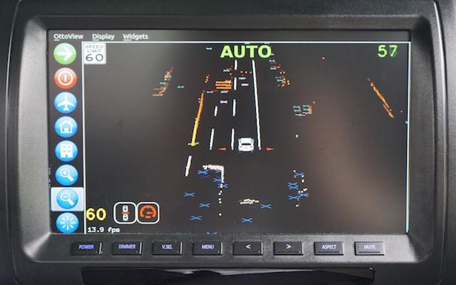 Delphi Drive autonomous car