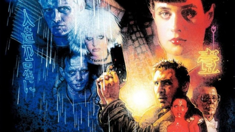 A promotional poster for Blade Runner