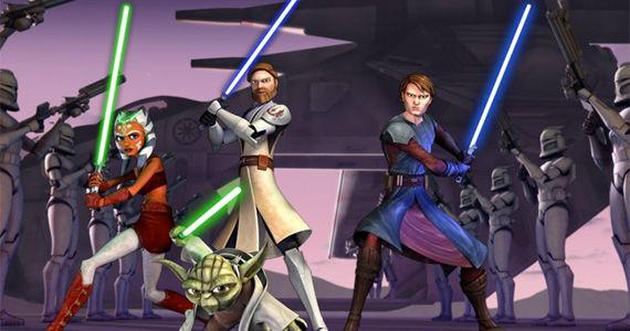 Star Wars animated series.